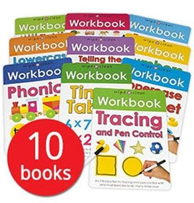 Wipe-Clean Workbook Collection (Paperback)