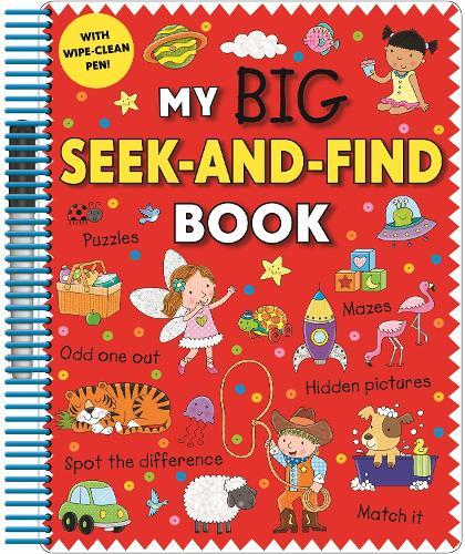 My Big Seek and Find Book (Spiral bound)