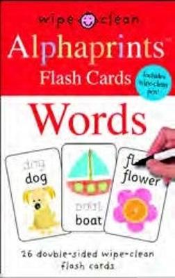 Words: Alphaprints Flash Cards - Alphaprints Flash Cards