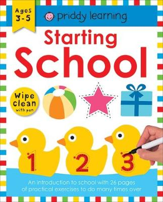Starting School: Wipe Clean Workbooks - Wipe Clean Workbooks (Paperback)