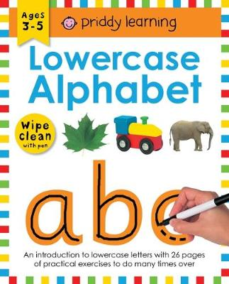 Lowercase Alphabet: Wipe Clean Workbooks - Wipe Clean Workbooks (Paperback)