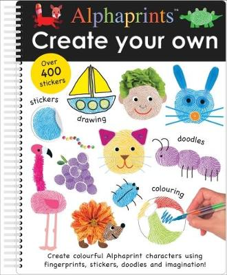 Create Your Own Alphaprints - Alphaprints (Spiral bound)