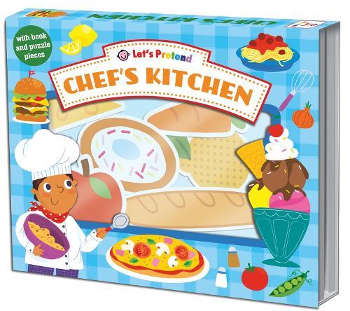 Let's Pretend Chefs Kitchen (Hardback)