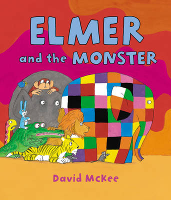 Elmer and the Monster - Elmer Picture Books (Hardback)