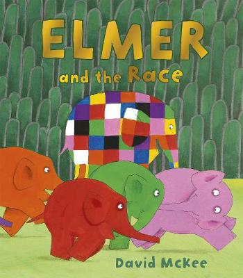 Elmer and the Race - Elmer Picture Books (Paperback)