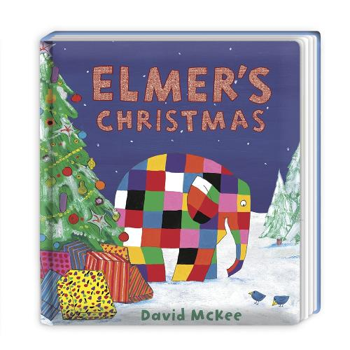 Elmer's Christmas: Board Book - Elmer Picture Books (Board book)