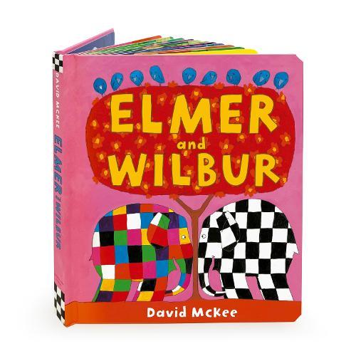 Elmer and Wilbur: Board Book (Board book)