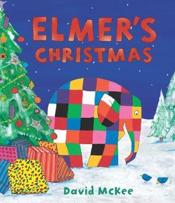 Elmer's Christmas: Mini Hardback - Elmer Picture Books (Hardback)
