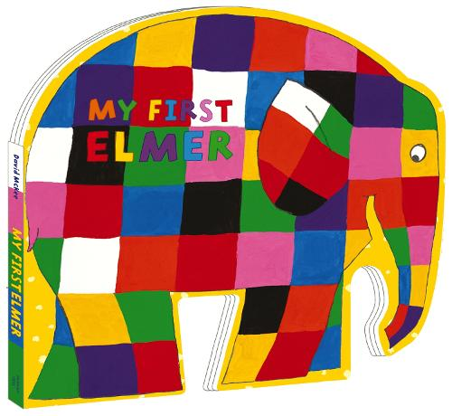 My First Elmer: Shaped Board Book - Elmer Picture Books (Board book)