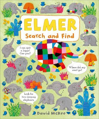 Elmer Search and Find - Elmer Picture Books (Board book)