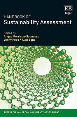 Handbook of Sustainability Assessment - Research Handbooks on Impact Assessment Series (Hardback)