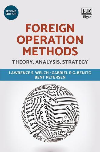 Foreign Operation Methods: Theory, Analysis, Strategy (Hardback)