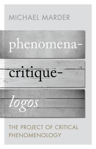 Phenomena-Critique-Logos: The Project of Critical Phenomenology (Paperback)