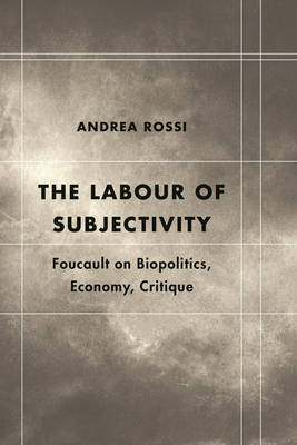 The Labour of Subjectivity: Foucault on Biopolitics, Economy, Critique - Futures of the Archive (Hardback)