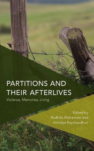 Partitions and Their Afterlives: Violence, Memories, Living - Critical Perspectives on Theory, Culture and Politics (Hardback)