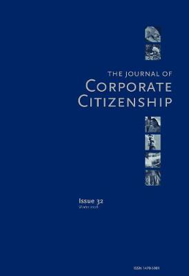 Sustainable Enterprise: A Conversation about the Future: A special theme issue of The Journal of Corporate Citizenship (Issue 30) (Paperback)