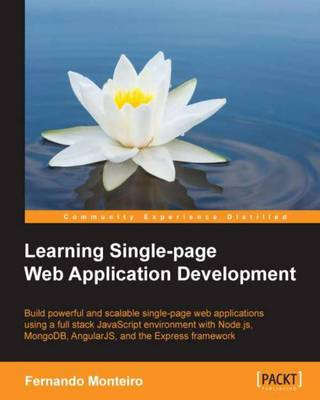 Learning Single-page Web Application Development (Paperback)
