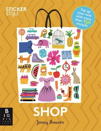 Sticker Style: Shop (Paperback)