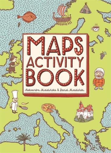 Maps Activity Book - Maps (Paperback)