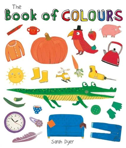 The Book of Colours - Book Of (Board book)