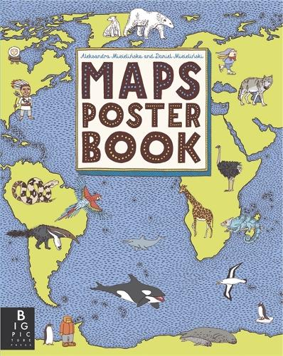 Maps Poster Book - Maps (Paperback)