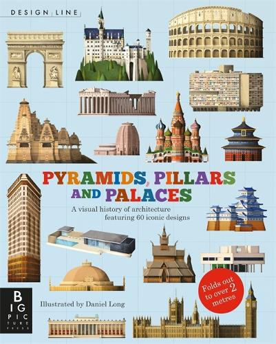 Design Line: Pyramids, Pillars and Palaces (Paperback)