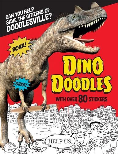 Dino Doodles (Hardback)