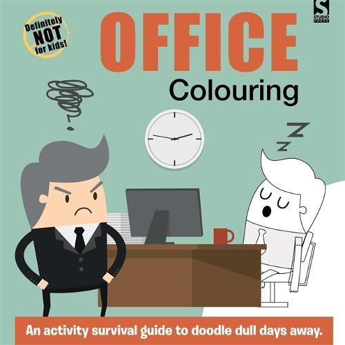 Office Colouring - Adult Colouring/Activity (Paperback)