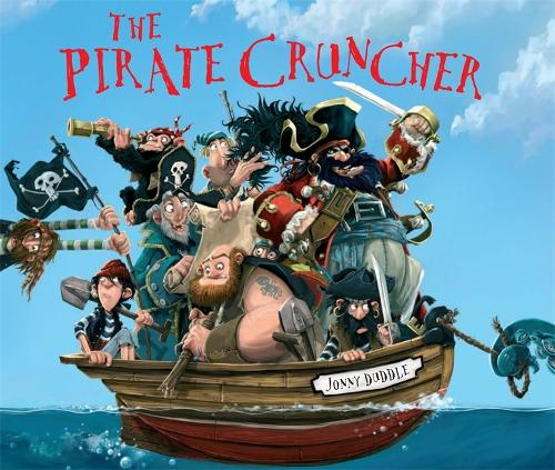 Cover of the book, The Pirate Cruncher.