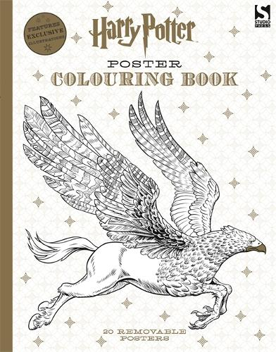Harry Potter Poster Colouring Book - Harry Potter (Paperback)
