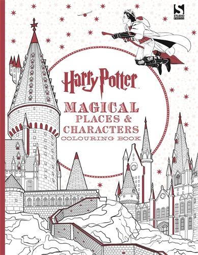 harry potter magical places and characters colouring book harry potter paperback - Coloring Book Harry Potter