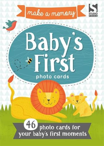 Make a Memory Baby's First Photo Cards: Make a moment into a memory to keep forever. - Make a Memory (Paperback)