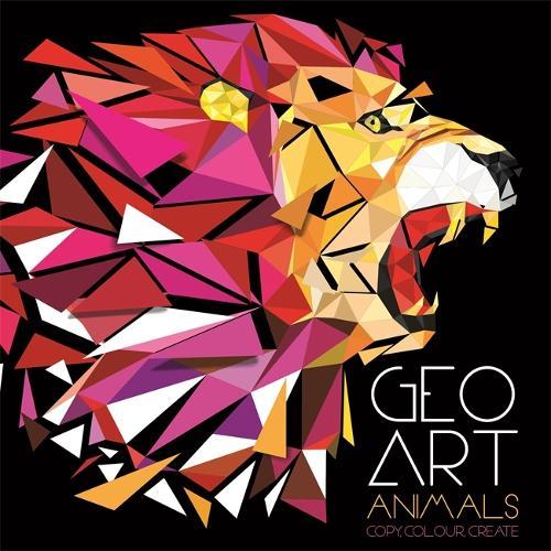 Geo Art Animals - Activity (Children's) (Paperback)