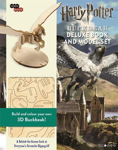 IncrediBuilds: Buckbeak: Deluxe model and book set - IncrediBuilds (Hardback)