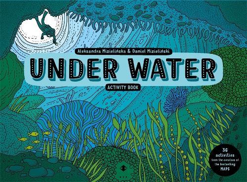 Under Water Activity Book (Paperback)