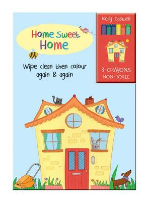 Colour Me Again and Again Book - Home Sweet Home - Colour Me Again and Again Book (Board book)