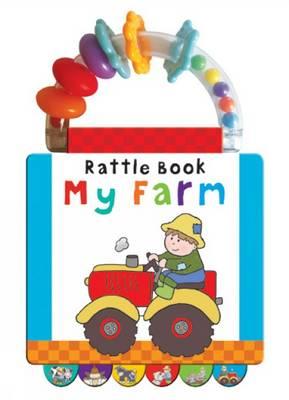 Farm: Early Learning - Handle Rattle Book (Hardback)