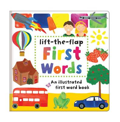 First Words: Early Learning - Large Multiple Flap Book (Hardback)