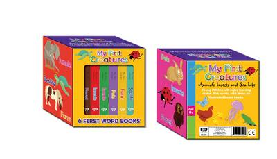 Look and Learn Boxed Book Set - My First Creatures - Look and Learn Boxed Book Set (Board book)