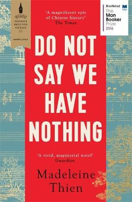 Do Not Say We Have Nothing (Paperback)
