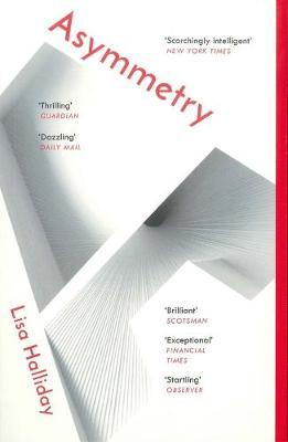 Cover of the book, Asymmetry.