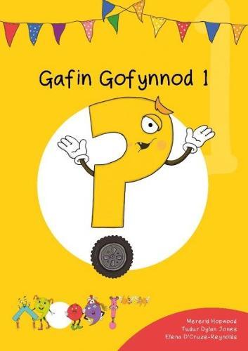 Cyfres Cymeriadau Difyr: Glud y Geiriau - Gafin Gofynnod 1 (Paperback)