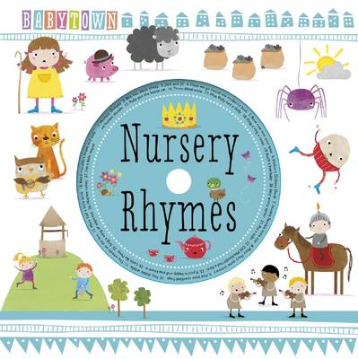 Baby Town Nursery Rhymes With Cd Hardback
