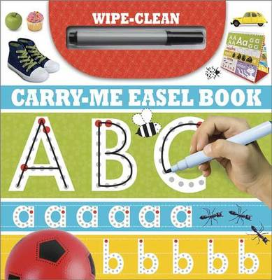ABC: Wipe-Clean Carry-Me Easel Book - Learning Range (Spiral bound)