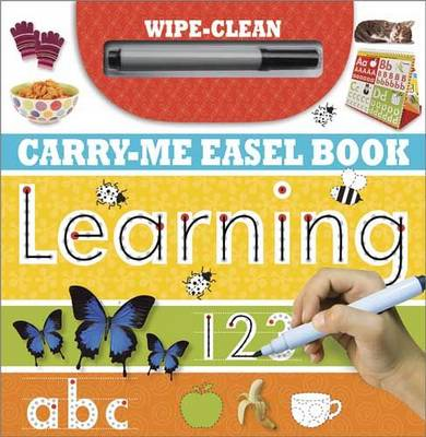 Learning: Wipe-Clean Carry-Me Easel Book - Learning Range (Spiral bound)