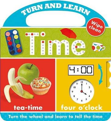Turn and Learn Time: Turn and Learn - Learning Range (Board book)