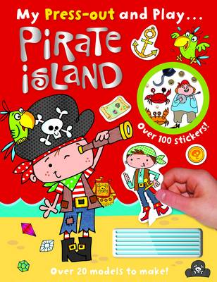 Press-Out and Play: Pirate Island - Press Out and Play (Paperback)