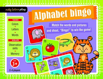 Alphabet Bingo - Make Believe Play