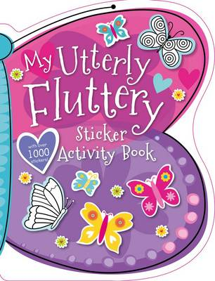 My Utterly Fluttery Sticker Backpack (Paperback)