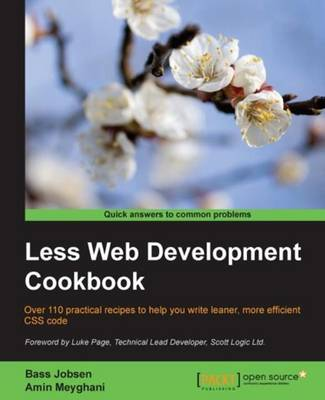 Less Web Development Cookbook (Paperback)